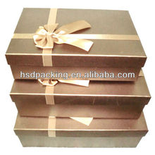 New trend durable paper gift packing box set