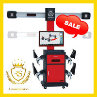 Smart Lawrence RS-8 3d wheel aligner computer camera software