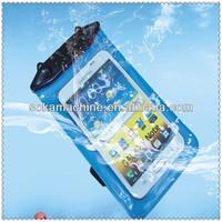 plastic PVC in underwater waterproof phone case for nokia lumia 520