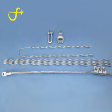 Galavnized Steel OPGW Cable Tension Clamp Clip / Cable clip