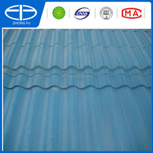 UPVC Palstic corrugated roof sheets blue ,white,grey ,red color
