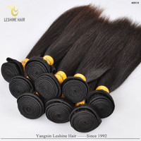 2015 New Arrival Large Stock Natural Color Unprocessed Virgin Remy Soft virginia hair