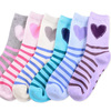 wholesale custom cute girl ankle cotton sock