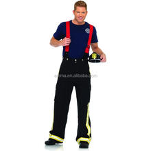 Adult Uncle Sam Costume Halloween Party Fireman Sam Costume BMG-2130