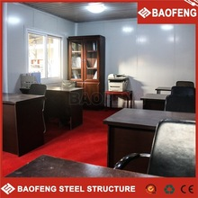 fully furnished steel houses for prefab home light steel villa at