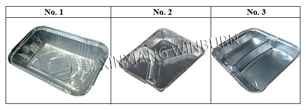 8011 Aluminium Container for Household Application