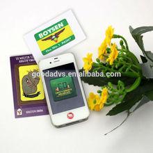 Pantalla táctil limpiador para teléfonos móviles regalos de microfibra promociones pantalla adhesivo limpiador
