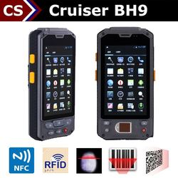 Cruiser BH9 4.3 inch handheld android case with reader tablet with printer attachedfor for tablets android nfc