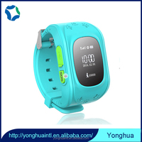 Waterproof children gps sos bracelet watch camera