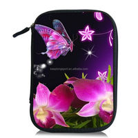 Colorful Leopard Neoprene Bag Drive Bag Pouch Carrying Case for Samsung Galaxy Note II