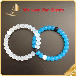 silicone wristband maker silicone bead bracelet