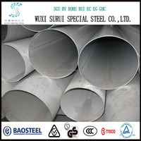 Large Diameter 304 Stainless Steel Welded Pipe