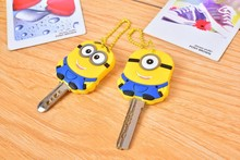 Free Sample ,minions despicable me keychain/key cover