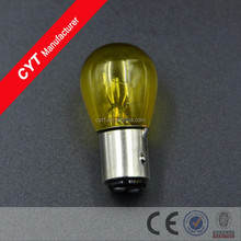 21/5W 12V Yellow Halogen bulb All Car Brake lamp/BA15D Tail Light