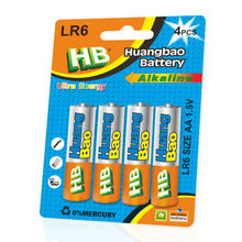 lr6 aa pcs/pack battery alkaline aa battery