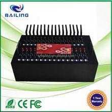 32 sim card multi-port modem pool Quad band every country can use it wavecom modem pool q24plus