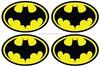 REFLECTIVE BATMAN LOGO helmet motorcycle car Sticker Decal Vinyl comic Superhero