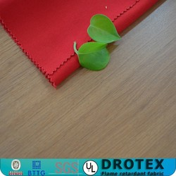 Comfortable elastic flame resistant fabric for safety workwear