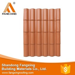 Trustworthy China supplier pvc plastic roof tile building construction material