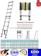 EN131 Multipurpose Telescopic Folding Ladder Aluminium Extension Steps