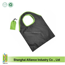 OEM 210D Polyester Blank Folding Bag,Recycle ECO Friendly Shopping Bag