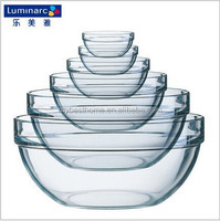 9cm Glass Bowl Food Container Heat Resistant Glass Microwave Safe