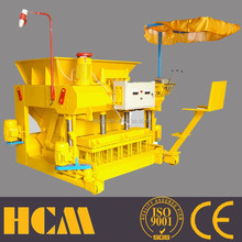 QMY6-25 Mobile concrete block making machine product the hollow block