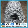 Usine à chaud!!! Prix rouleau de fil de fer barbelé clôture
