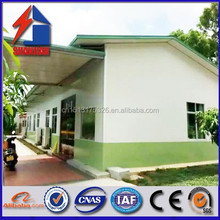 china manufacturer light steel structure prefab house villa with sandwich panel for europe