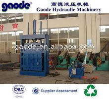 Hydraulic used baling machines HC82-250F model for containerized transportation