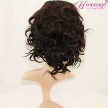 Homeage reasonable price brazilian human hair wig professional custom lace wigs Manufacturers