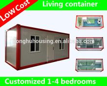 Alojamento pré-fabricada moderna container à venda