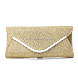 Customized top quality flash material ladies envelope bag 005