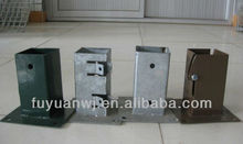 2014 new type galvanized fence pole plate (manufacturer)