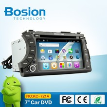 Android 7inch Ssangyong Actyon Sport Car Radio DVD Player GPS with Bluetooth