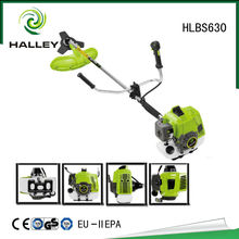 62cc brush cutter HLBS630 with nylon cutter and blade
