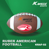 Rubber American foot ball