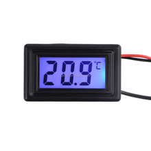 New Arrival DC 5V-25V 4 Pin Port Digital Temperature Thermometer for PC Car Mod