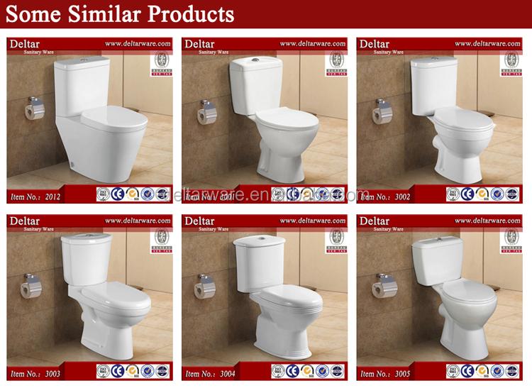 Ethiopia Two Piece Toilet PriceWashdown Ceramic White ToiletAcqua