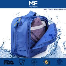 High quality fashion waterproof women overnight makeup bags