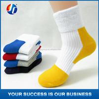 thick white socks men plain sport socks