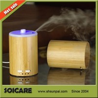 2014 New arrivaling bamboo battery powered humidifiers