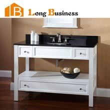 LB-LX2025 Modern Solid Wood Bathroom Vanity Storage for Wholesalers, black bathroom cabinets