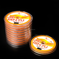 China pe braided fishing line 100m10 spools connected in fishing lines,4/8 strands
