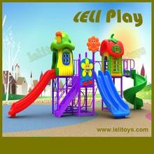 LL-O21 Hottest High Quality Children Outdoor Plastic Slides