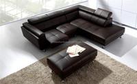 heated leather sofa