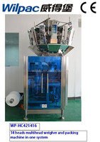 pillow bag vertical form fill seal packing machine for candy