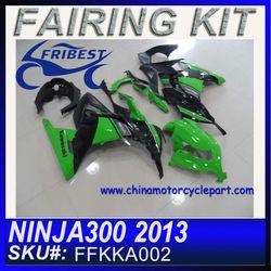 Motorcycle Fairing for KAWASAKI NINJA 300 2013 fairing kit green FFKKA002