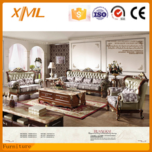 living room furniture classic leather sofa design