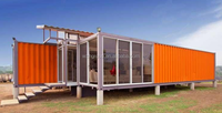 China Good quality insulation office 20ft prefab container House china supplier